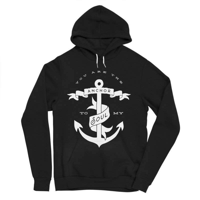 Anchor To My Soul Men's Sponge Fleece Pullover Hoody by Tie Them As Symbols