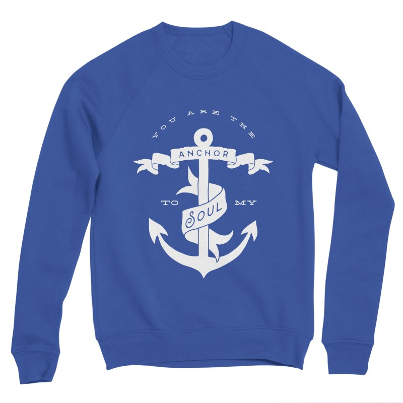 Anchor To My Soul Women's Sponge Fleece Sweatshirt by Tie Them As Symbols