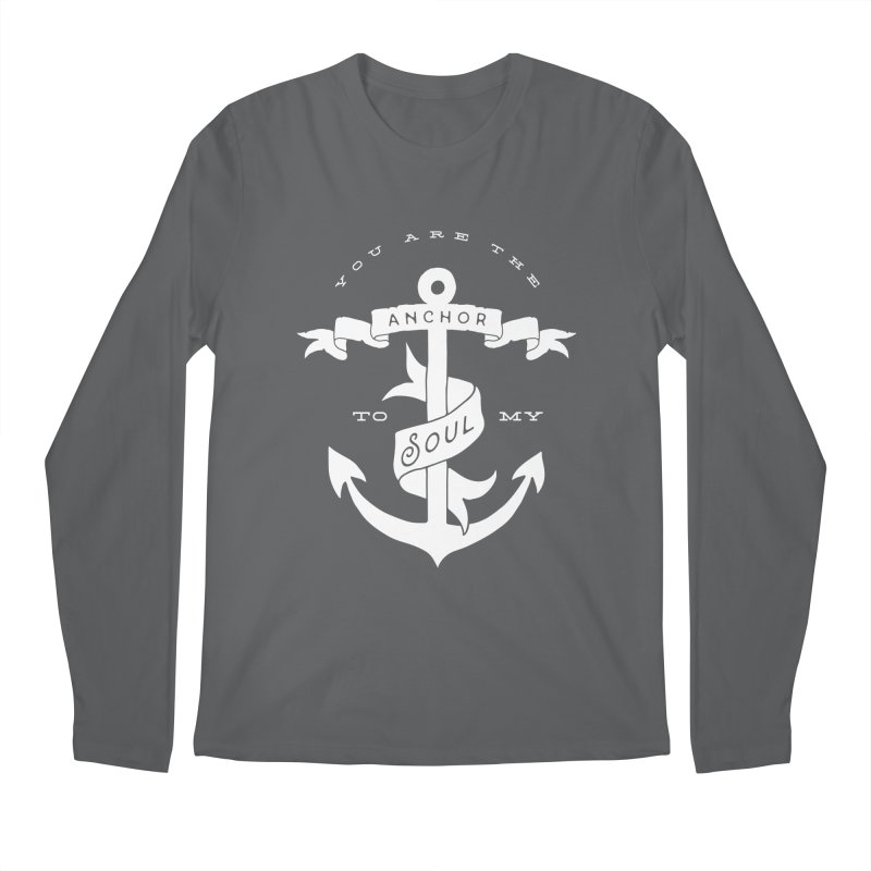 Anchor To My Soul Men's Longsleeve T-Shirt by Tie Them As Symbols