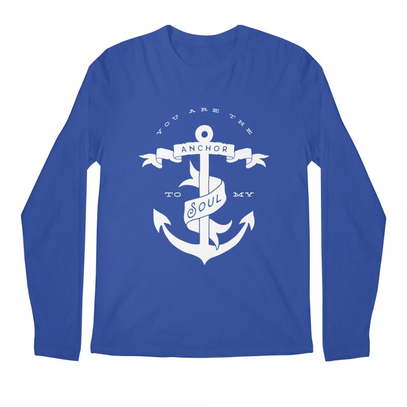 Anchor To My Soul Men's Regular Longsleeve T-Shirt by Tie Them As Symbols