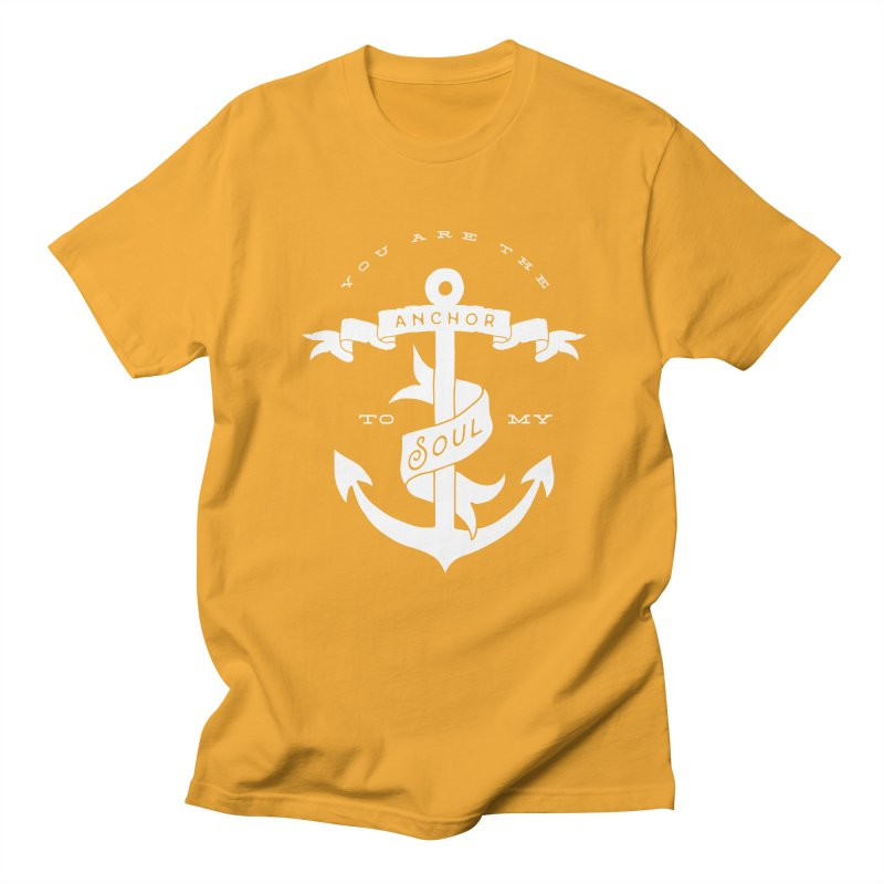 Anchor To My Soul Women's Regular Unisex T-Shirt by Tie Them As Symbols