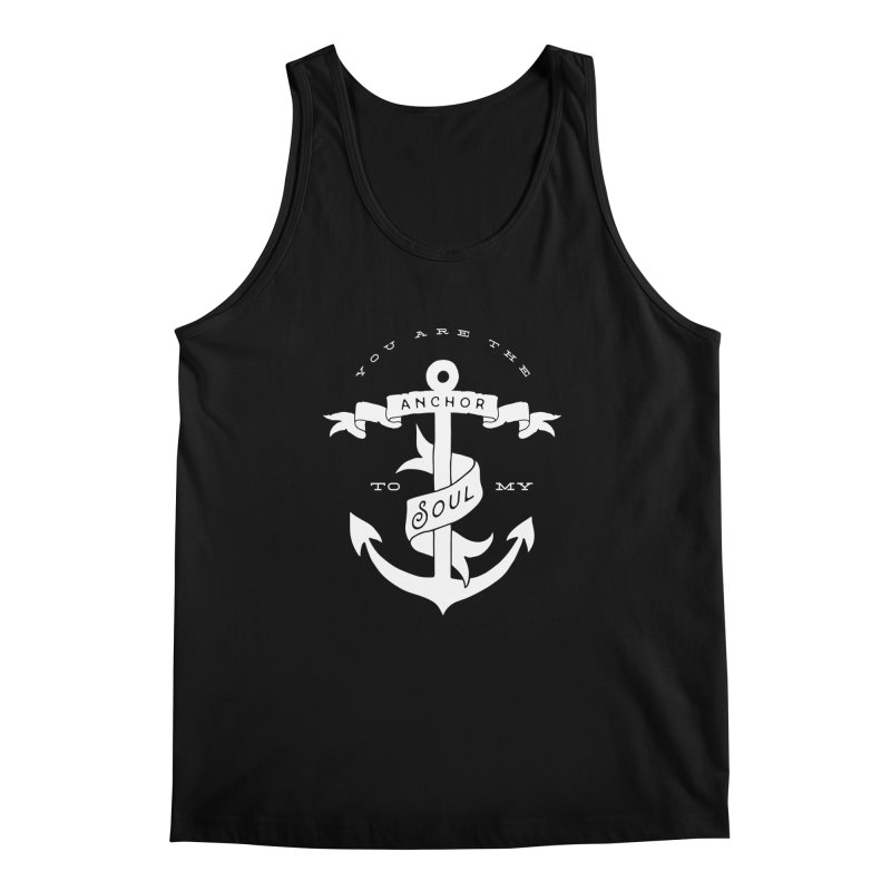 Anchor To My Soul Men's Regular Tank by Tie Them As Symbols