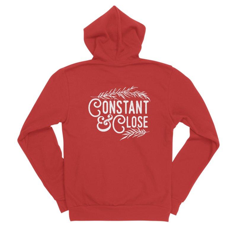 Constant & Close Men's Zip-Up Hoody by Tie Them As Symbols