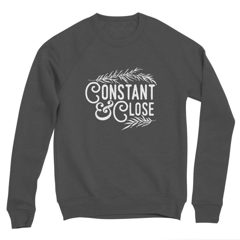 Constant & Close Men's Sponge Fleece Sweatshirt by Tie Them As Symbols