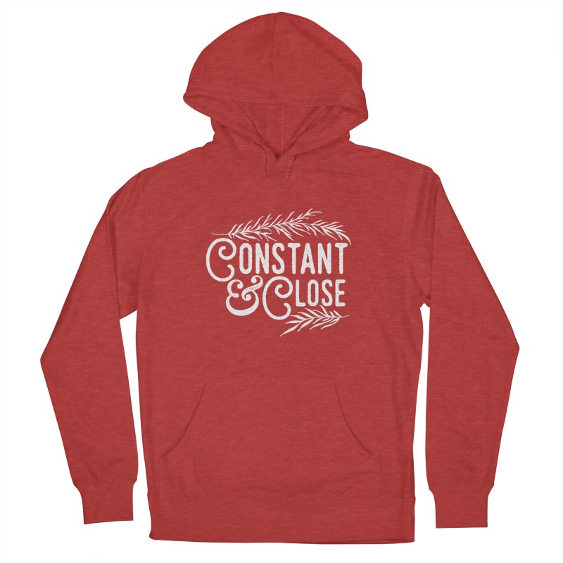 Constant & Close Women's French Terry Pullover Hoody by Tie Them As Symbols