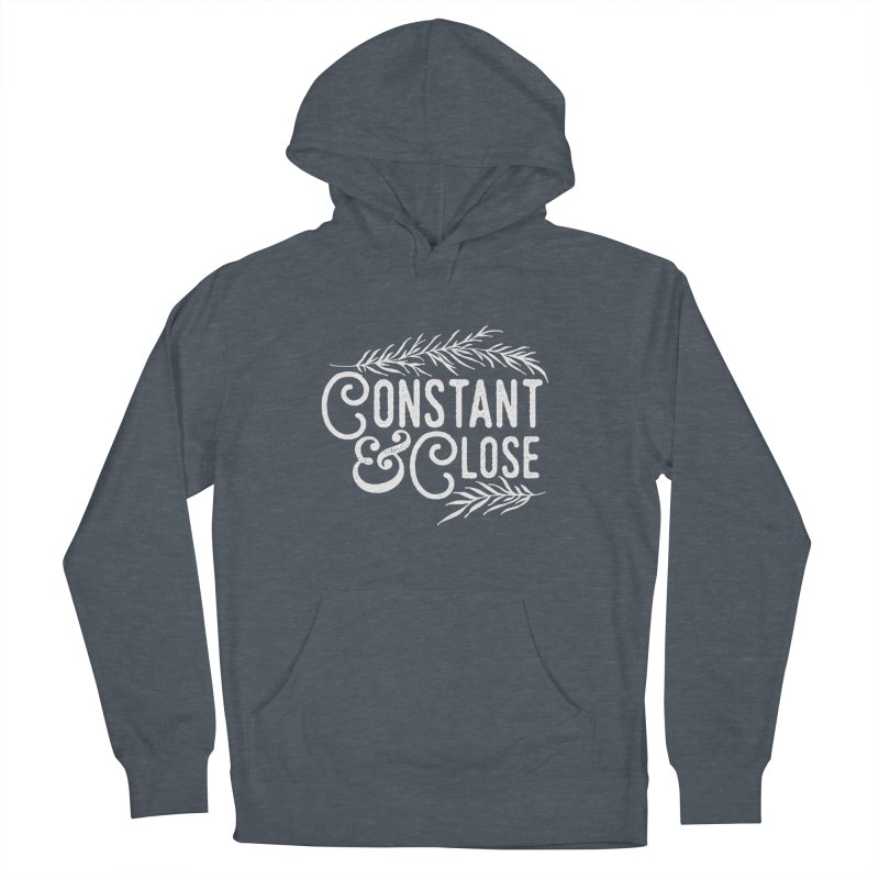 Constant & Close Men's French Terry Pullover Hoody by Tie Them As Symbols
