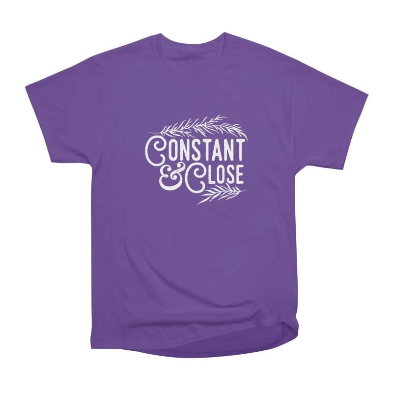Constant & Close Women's Heavyweight Unisex T-Shirt by Tie Them As Symbols