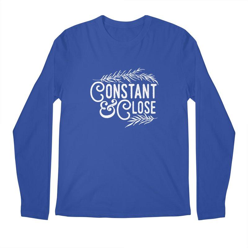 Constant & Close Men's Regular Longsleeve T-Shirt by Tie Them As Symbols