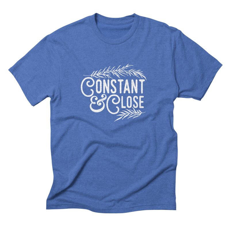 Constant & Close Men's Triblend T-Shirt by Tie Them As Symbols