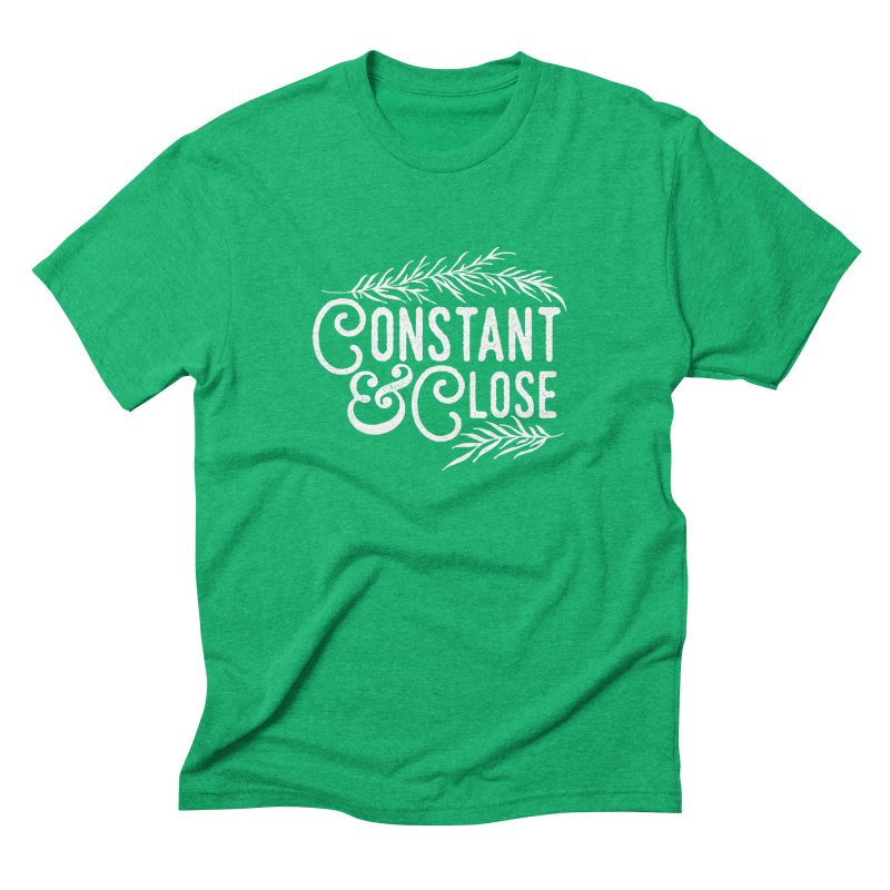 Constant & Close Men's Triblend T-Shirt by Tie Them As Symbols