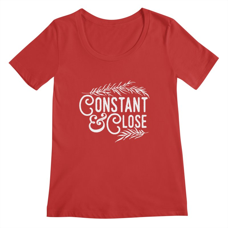 Constant & Close Women's Regular Scoop Neck by Tie Them As Symbols