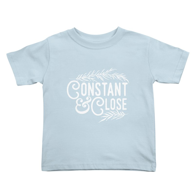 Constant & Close Kids Toddler T-Shirt by Tie Them As Symbols