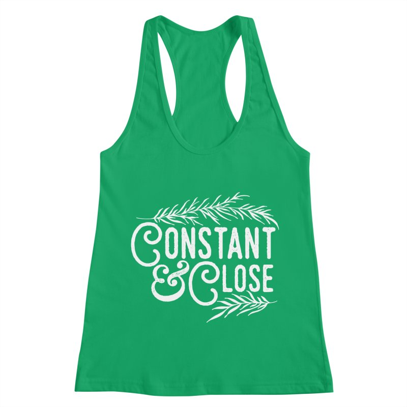 Constant & Close Women's Tank by Tie Them As Symbols