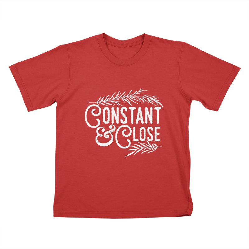 Constant & Close Kids T-Shirt by Tie Them As Symbols
