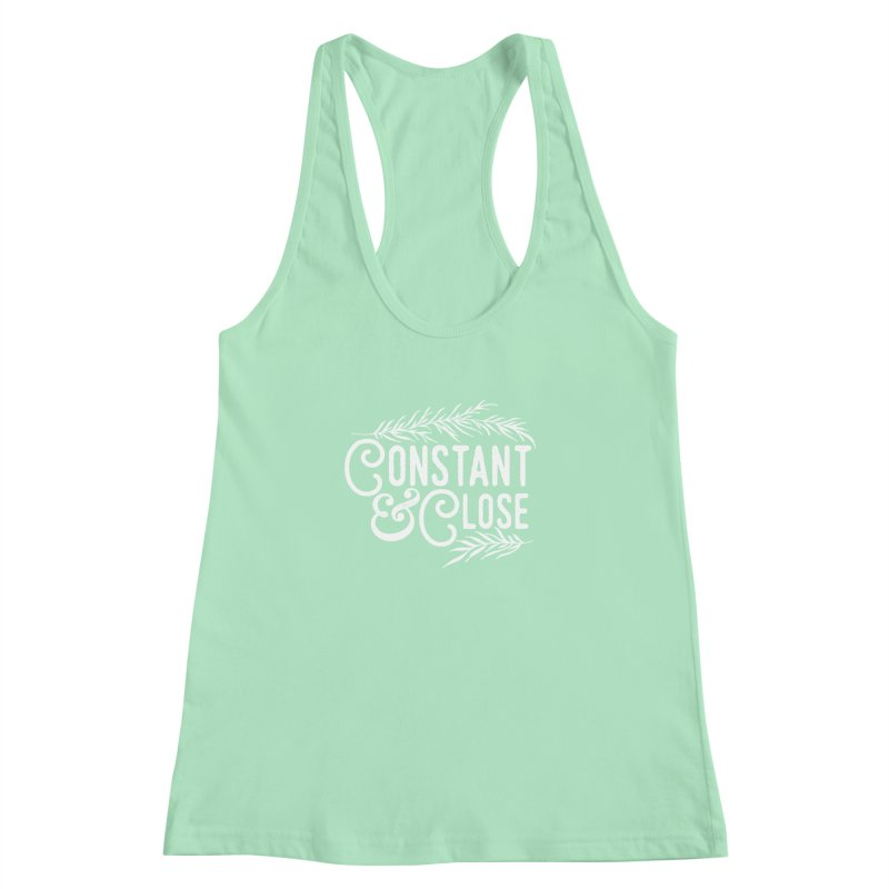 Constant & Close Women's Racerback Tank by Tie Them As Symbols