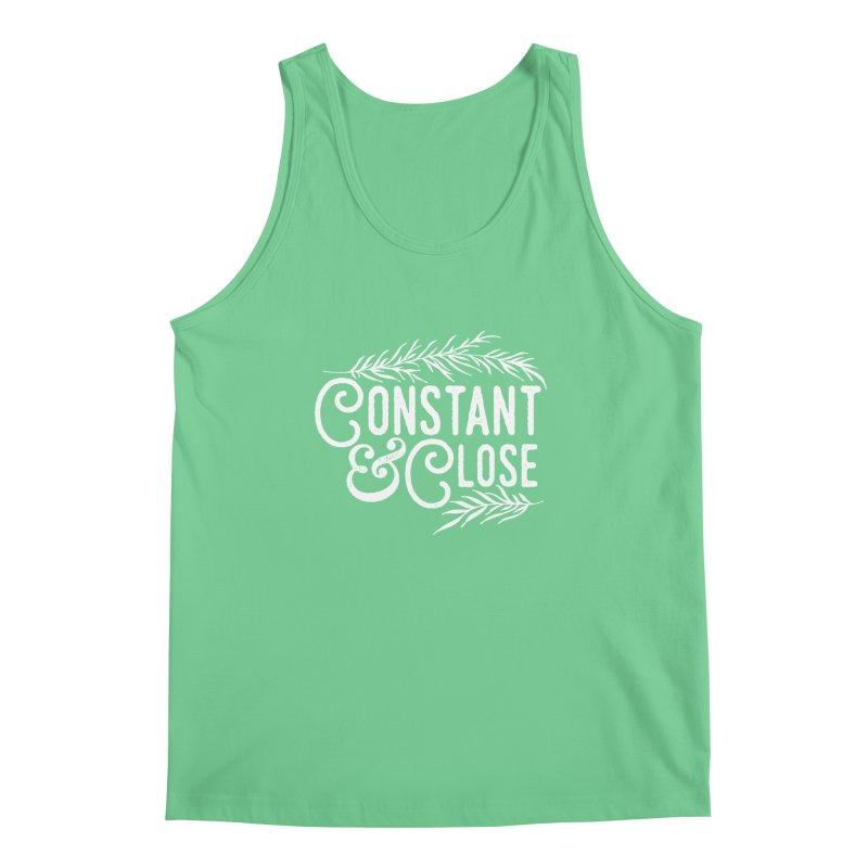 Constant & Close Men's Regular Tank by Tie Them As Symbols
