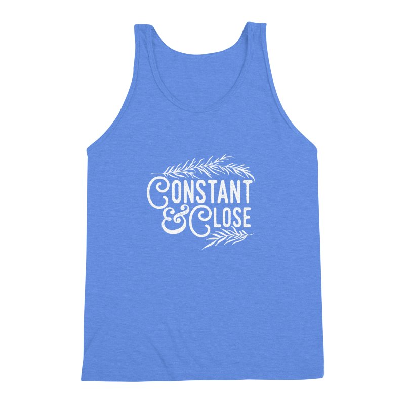 Constant & Close Men's Triblend Tank by Tie Them As Symbols