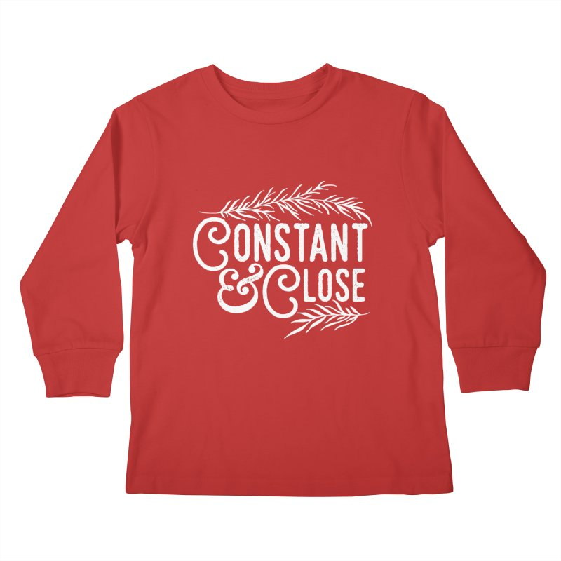 Constant & Close Kids Longsleeve T-Shirt by Tie Them As Symbols