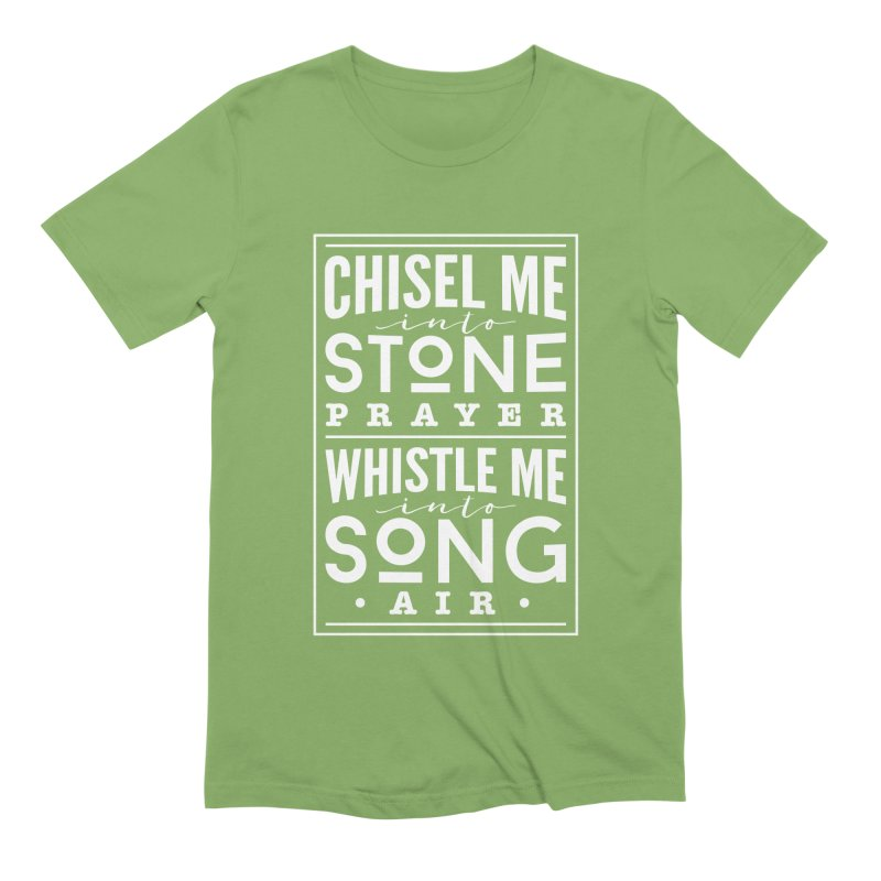 Chisel Me & Whistle Me Men's Extra Soft T-Shirt by Tie Them As Symbols