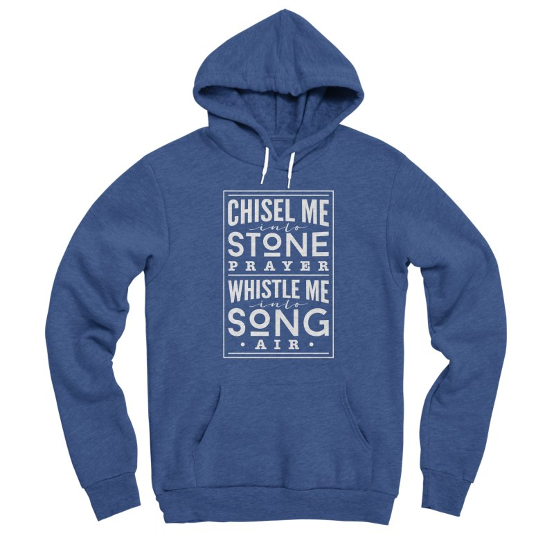 Chisel Me & Whistle Me Women's Sponge Fleece Pullover Hoody by Tie Them As Symbols