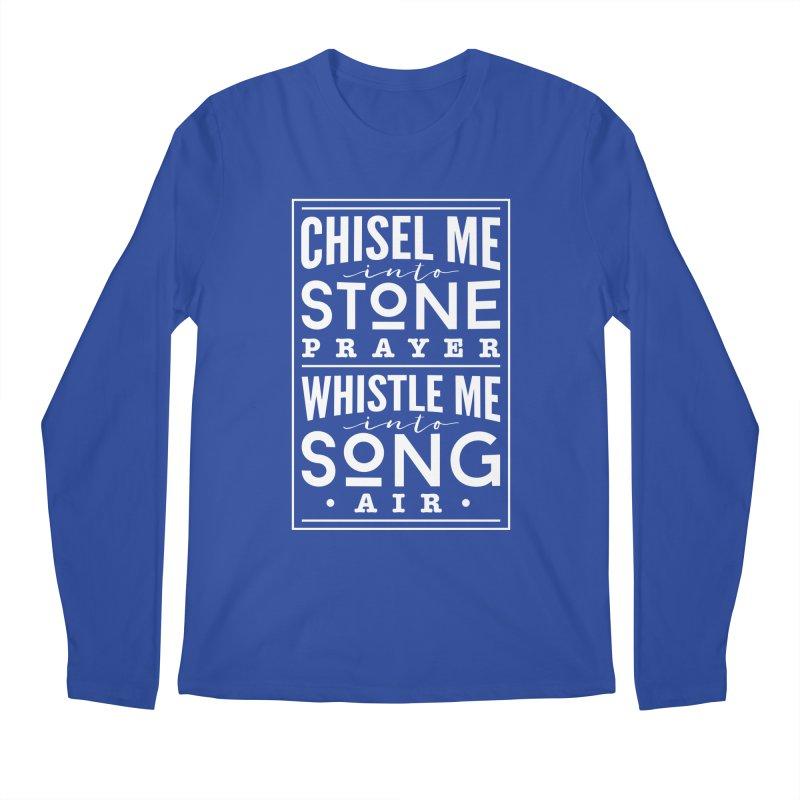 Chisel Me & Whistle Me Men's Regular Longsleeve T-Shirt by Tie Them As Symbols
