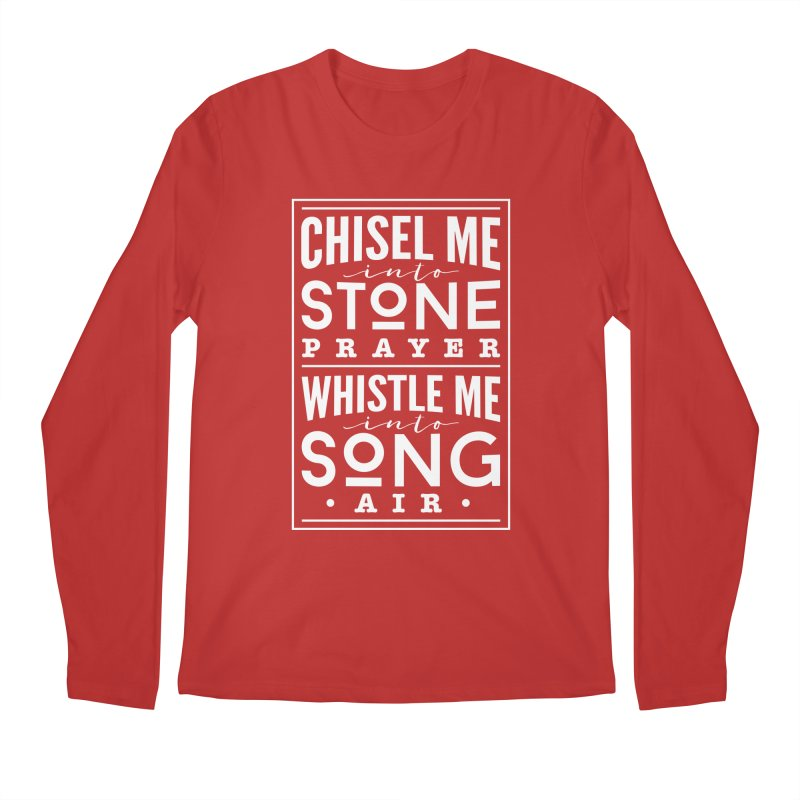 Chisel Me & Whistle Me Men's Regular Longsleeve T-Shirt by Tie Them As Symbols