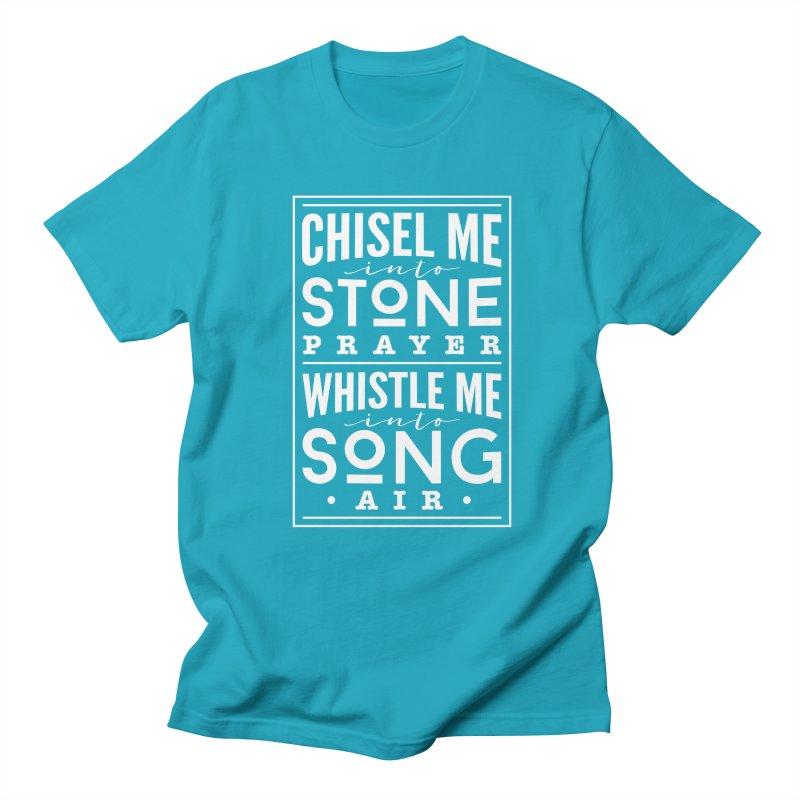 Chisel Me & Whistle Me Men's Regular T-Shirt by Tie Them As Symbols