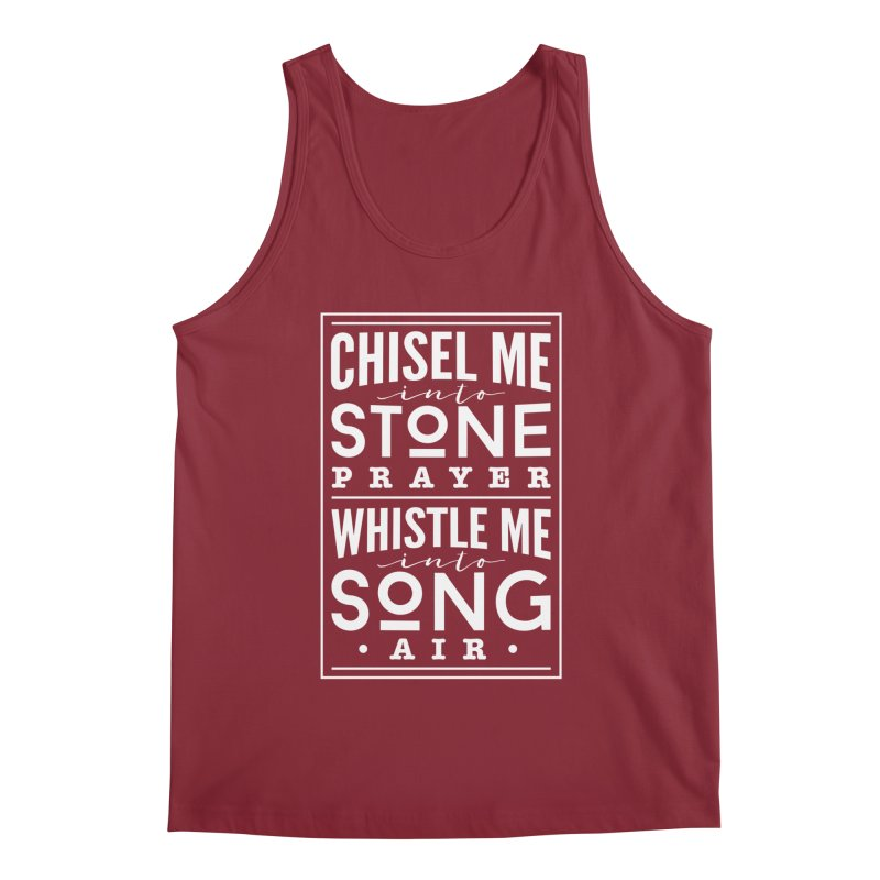 Chisel Me & Whistle Me Men's Tank by Tie Them As Symbols