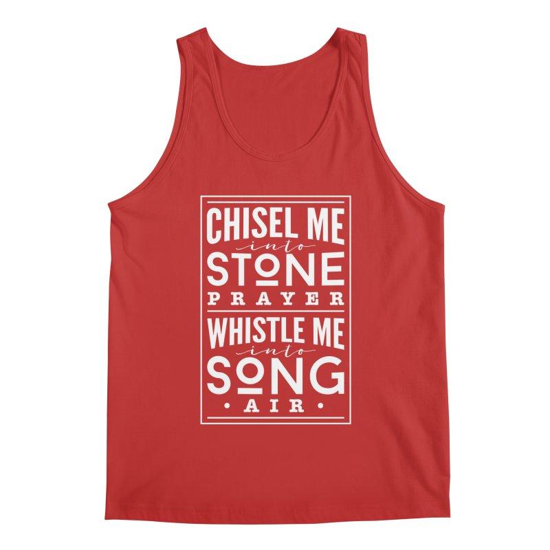 Chisel Me & Whistle Me Men's Regular Tank by Tie Them As Symbols