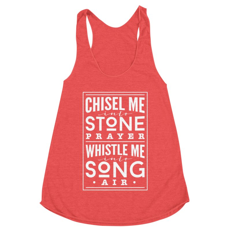 Chisel Me & Whistle Me Women's Tank by Tie Them As Symbols