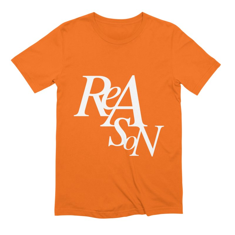 Reason Men's Extra Soft T-Shirt by Tie Them As Symbols
