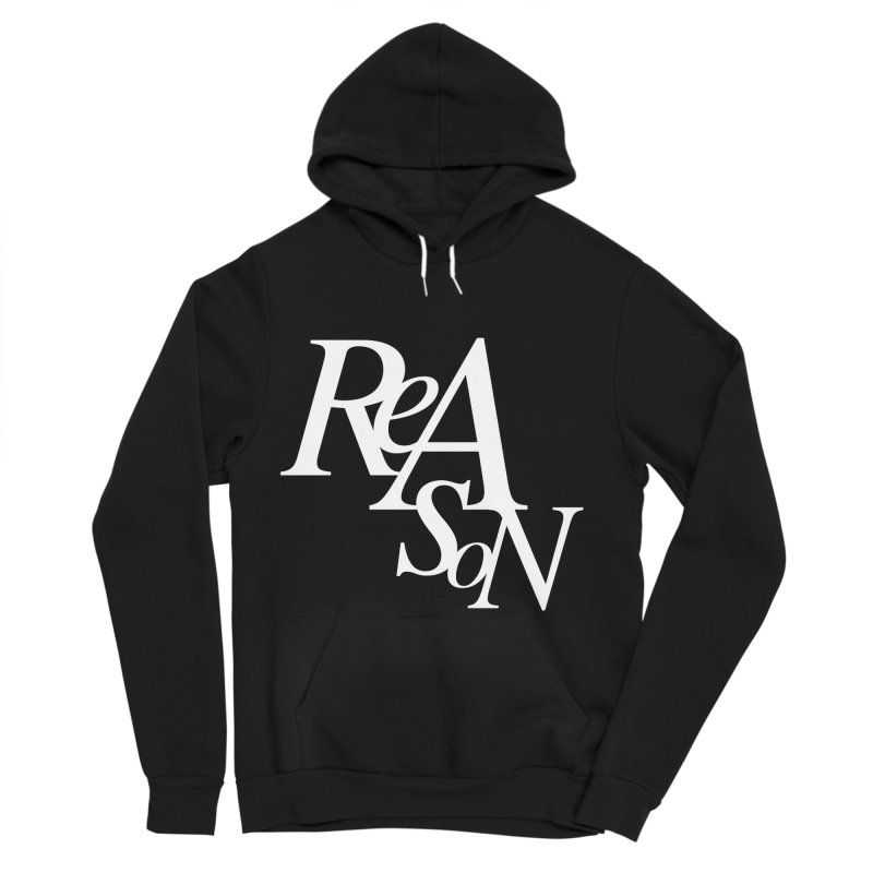 Reason Men's Sponge Fleece Pullover Hoody by Tie Them As Symbols