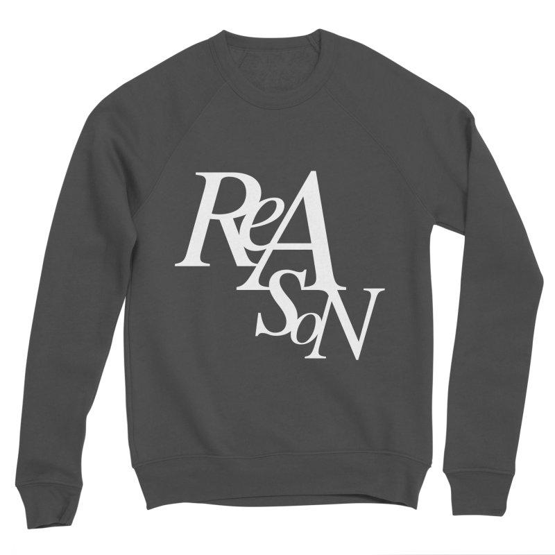 Reason Men's Sponge Fleece Sweatshirt by Tie Them As Symbols