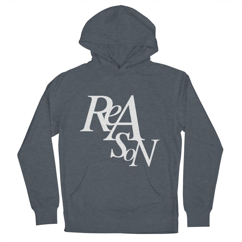 Reason Men's French Terry Pullover Hoody by Tie Them As Symbols