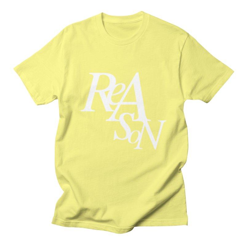 Reason Men's Regular T-Shirt by Tie Them As Symbols