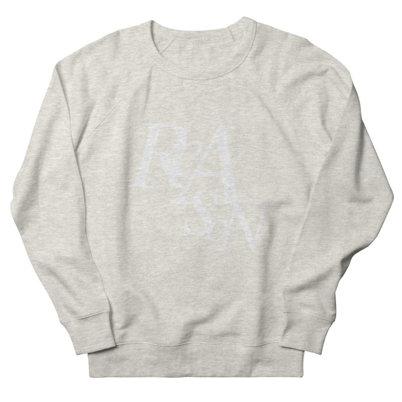 Reason Men's French Terry Sweatshirt by Tie Them As Symbols