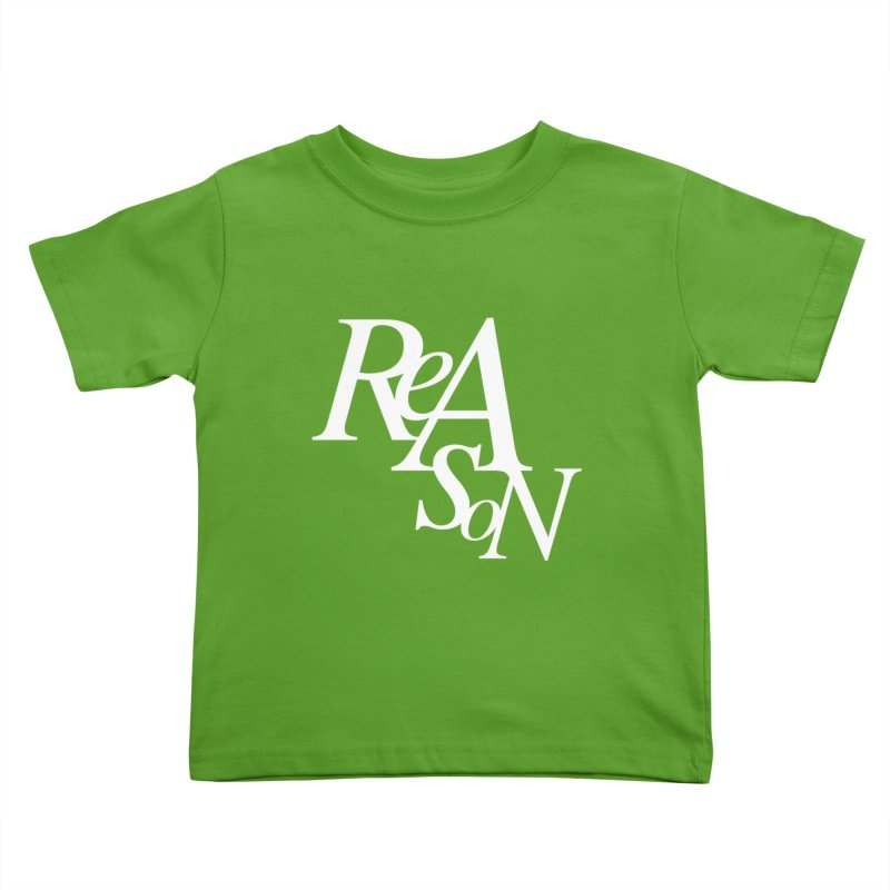 Reason Kids Toddler T-Shirt by Tie Them As Symbols