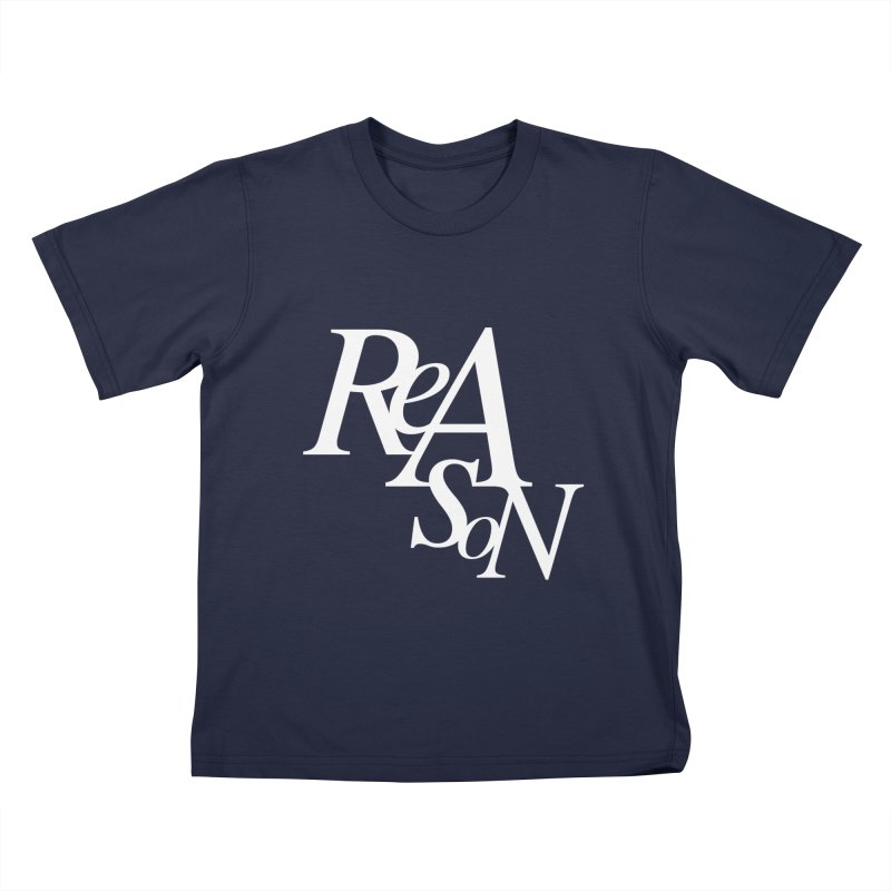 Reason Kids T-Shirt by Tie Them As Symbols