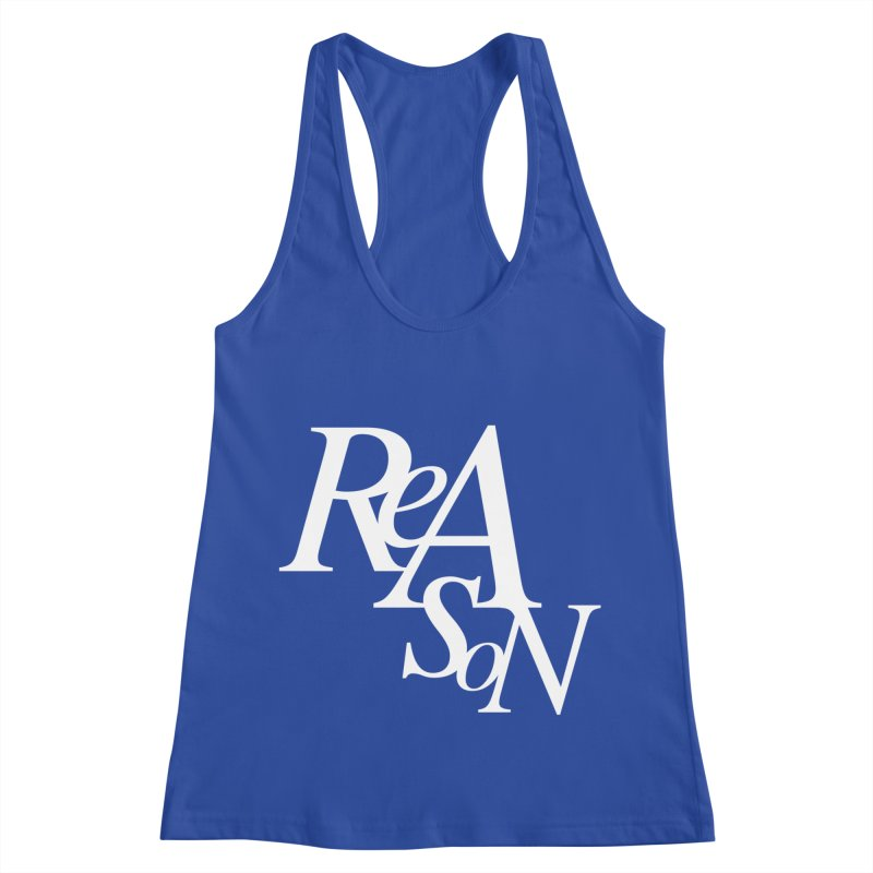 Reason Women's Racerback Tank by Tie Them As Symbols