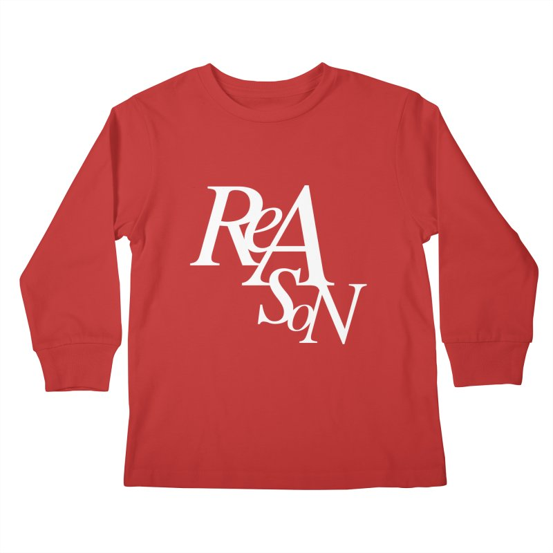 Reason Kids Longsleeve T-Shirt by Tie Them As Symbols