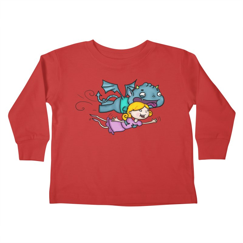 Gary The Gargoyle Kids Toddler Longsleeve T-Shirt by Tucker Makes Shirts