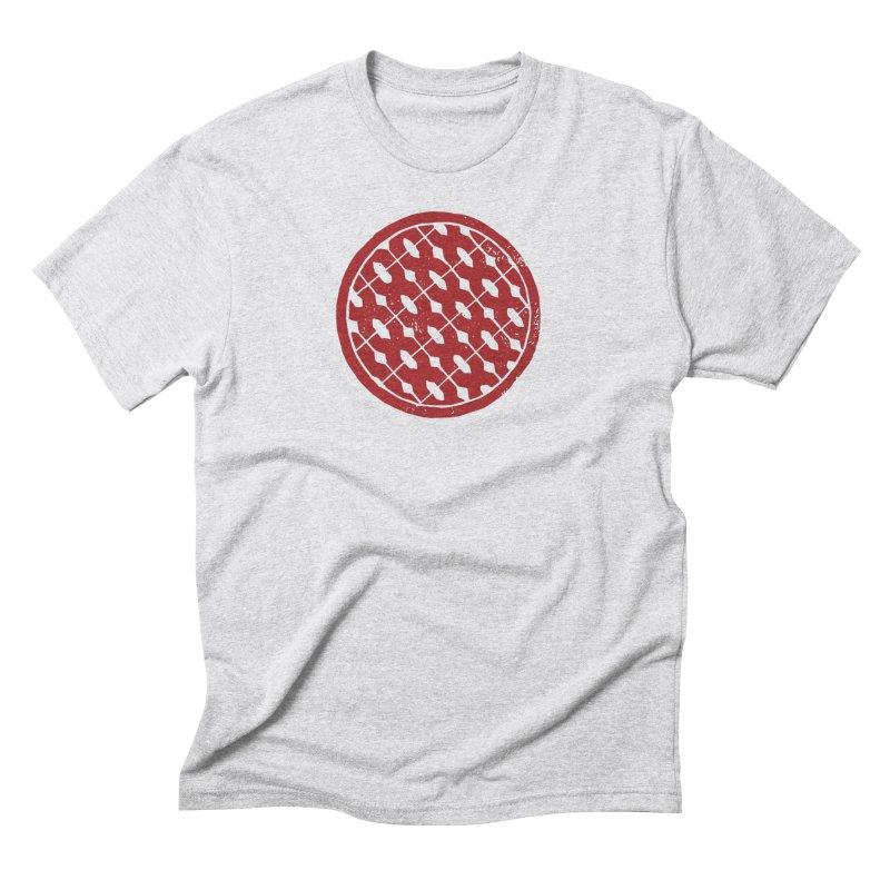 Spenny's Linocut Thinger Men's T-Shirt by Tucker Makes Shirts