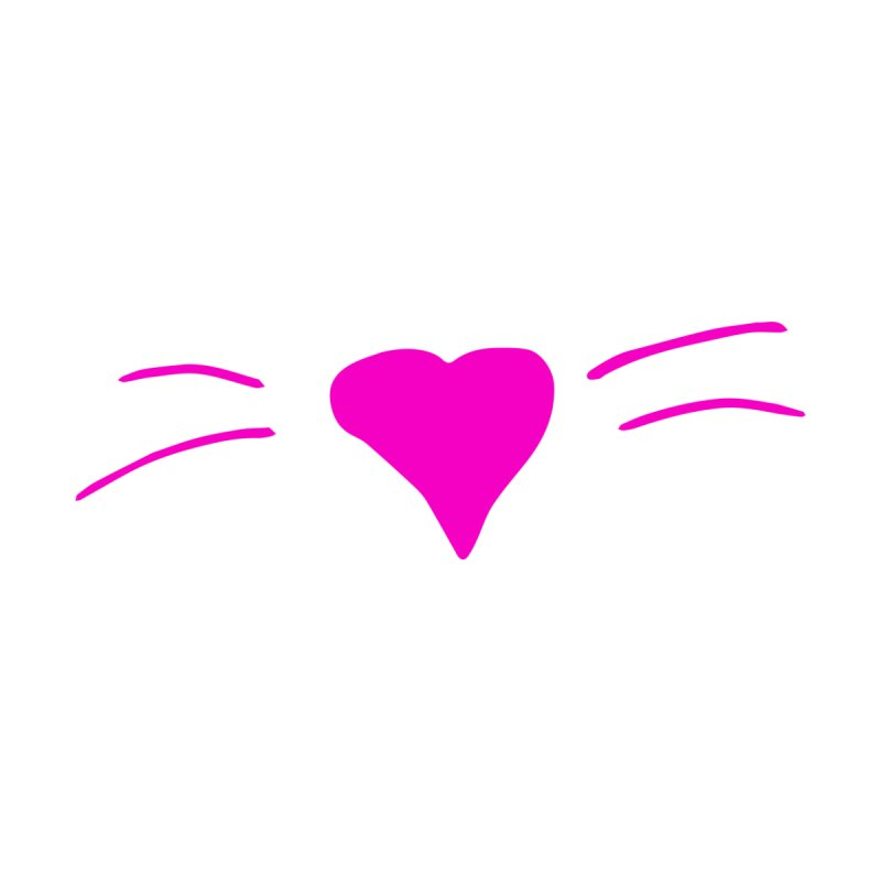 Kitty Heart - Pink Kids Baby T-Shirt by Tucker Makes Shirts