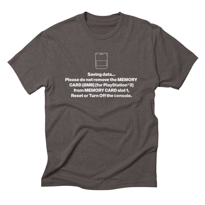 Memory Card Men's Triblend T-Shirt by tulleceria