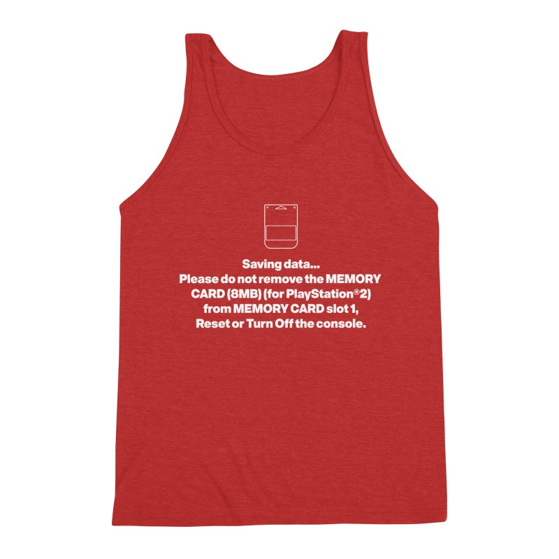 Memory Card Men's Triblend Tank by tulleceria