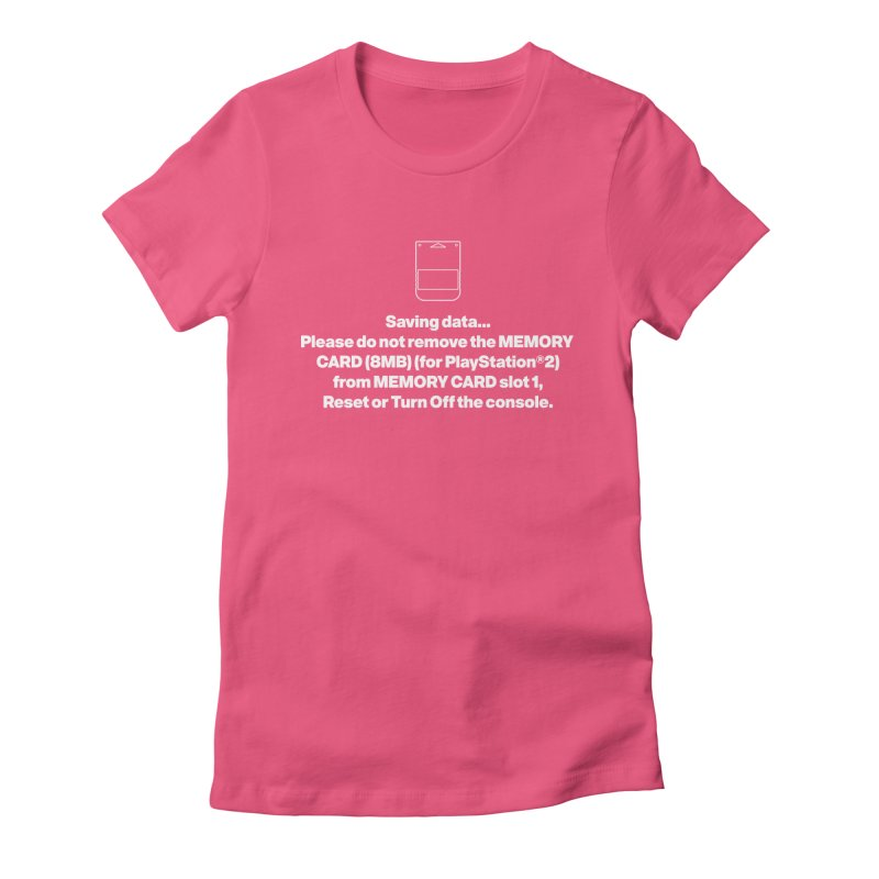 Memory Card Women's Fitted T-Shirt by tulleceria