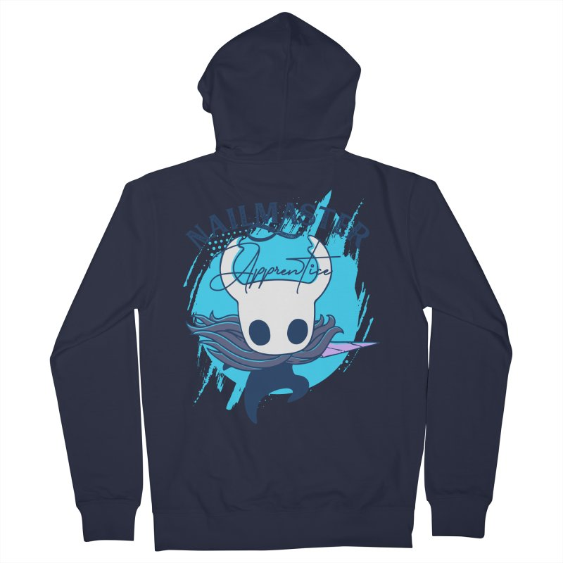 Hollow Knight Women's French Terry Zip-Up Hoody by tulleceria