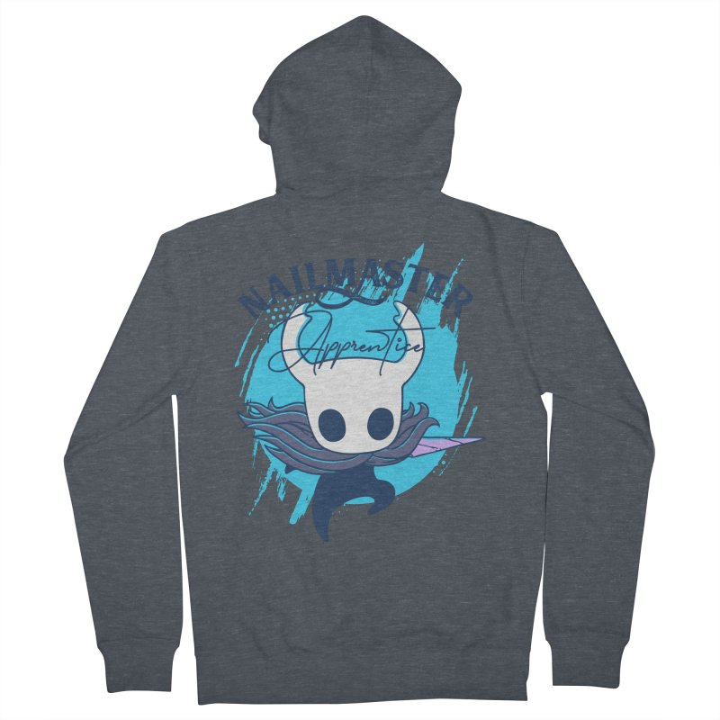 Hollow Knight Men's French Terry Zip-Up Hoody by tulleceria