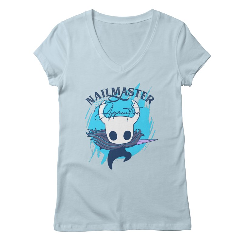 Hollow Knight Women's Regular V-Neck by tulleceria