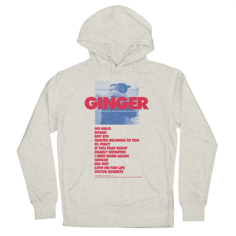 BROCKHAMPTON GINGER Women's French Terry Pullover Hoody by tulleceria